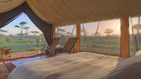 Serengeti Under Canvas Sunrise
