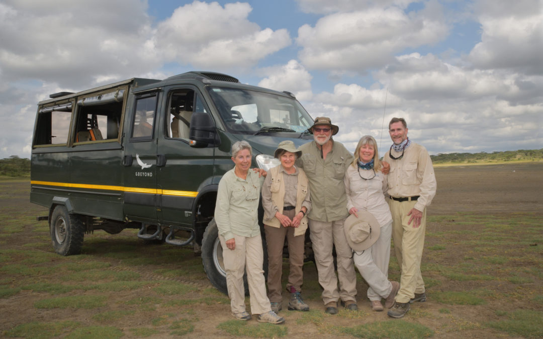 March Ndutu Clients with CNP Safaris