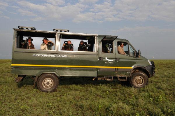 CNP Photo Safari vehicle